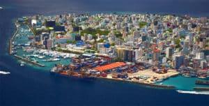 Male ist die Hauptstadt der Malediven